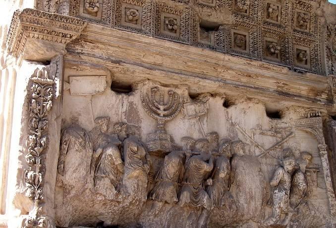 שער טיטוס ברומא