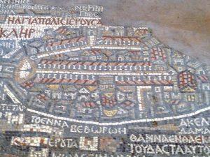 ירושלים במפת מידבא