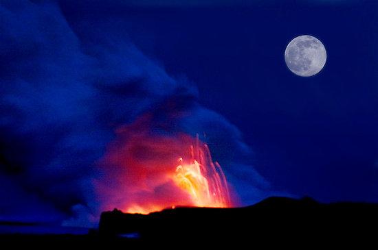 האם הירח יוצר רעידות אדמה?
