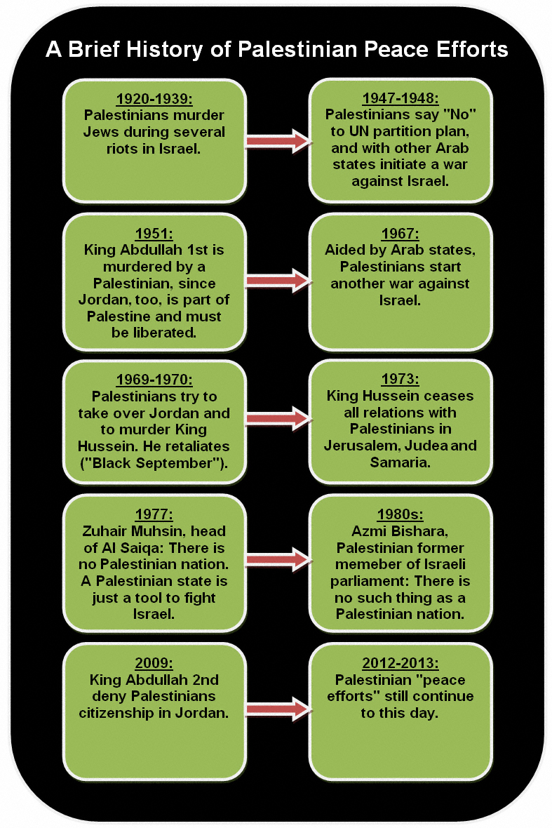 Brief History of Palestinian Peace Efforts