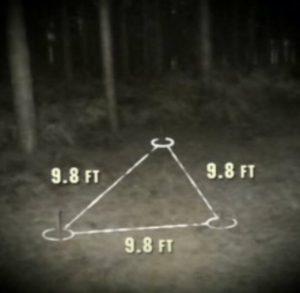 שלושת השקעים שהתגלו ביער רנדלשם