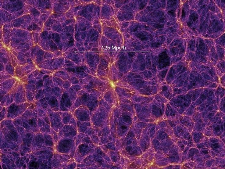 סידור צבירי-העל במרחב של כ-1.2 מיליארד שנות אור