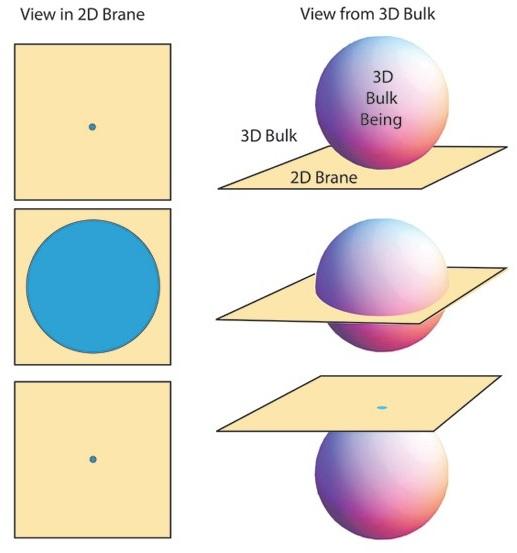 כיצד נראה עצם תלת-ממדי בעולם דו-ממדי