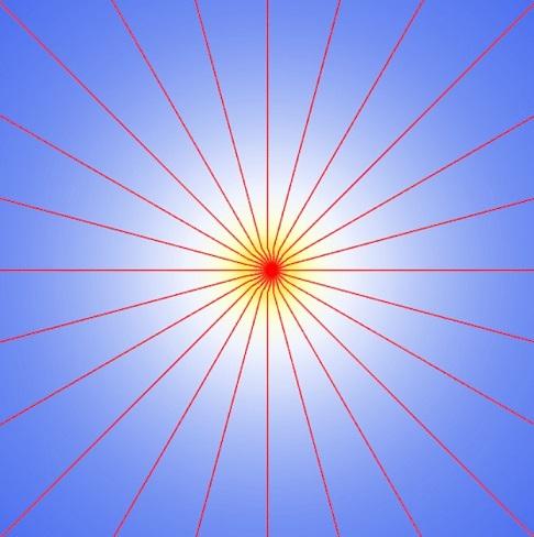 שדה חשמלי בתנועה מפיק גלים אלקטרומגנטיים